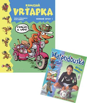 Balíček 2ks Komisař Vrťapka + Mateřídouška