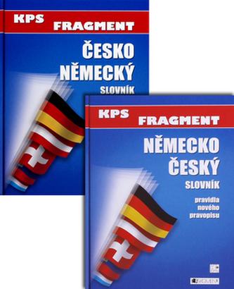 Komplet 2ks Německo - český slovní Česko - německý slovník