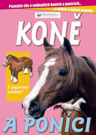 Koně a poníci 3 papírové modely!