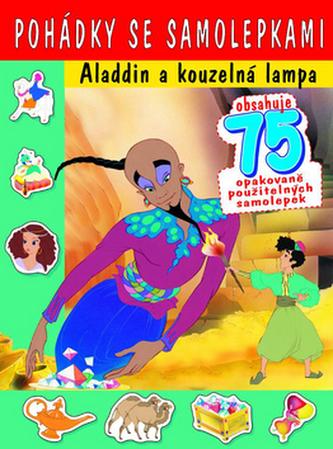 Pohádky se samolepkami Aladdin a kouzelná lampa