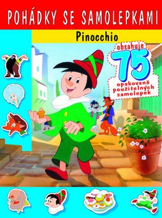 Pohádky se samolepkami Pinocchio