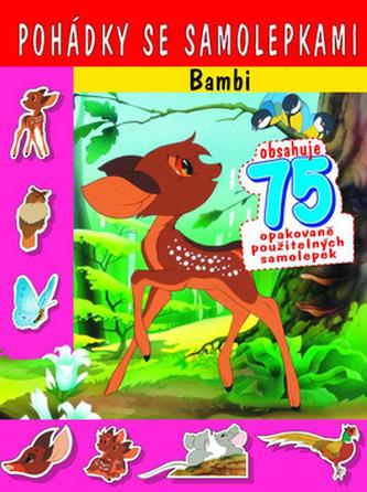 Pohádky se samolepkami Bambi