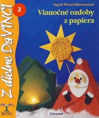 Vianočné ozdoby z papiera 2