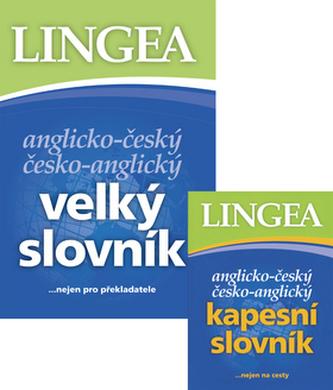 Balíček 2ks Anglické slovníky velký + kapesní