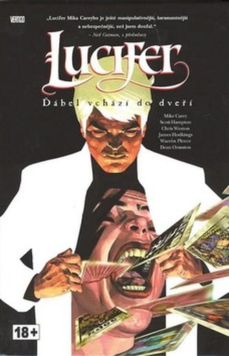 Lucifer Ďábel vchází do dveří