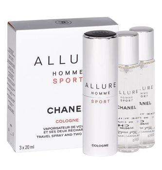 Chanel Allure Homme Sport Cologne Kolínská voda 3x20 ml Twist and Spray pro muže