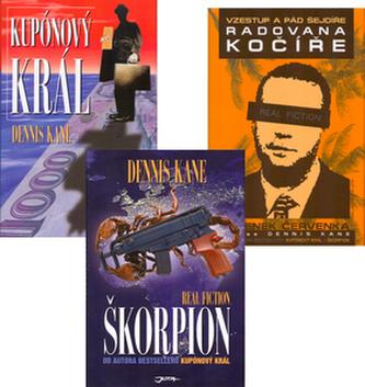 Balíček 3ks Vzestup a pád šejdíře+Radovana Kočíře+Škorpión+Kupónový král