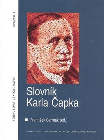 Slovník Karla Čapka + CD