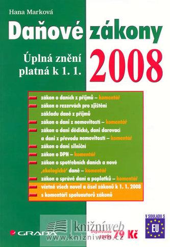 Daňové zákony 2008