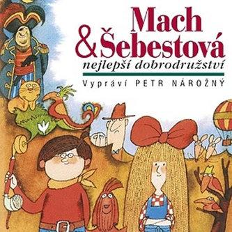 Mach & Šebestová Nejlepší dobrodružst - CD - neuveden