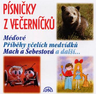 Písničky z Večerníčků - Včelí medvídci - CD - Různí interpreti