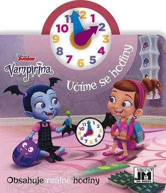 Vampirina - Kniha s hodinam