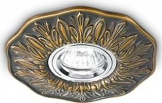VESTAVNÉ BODOVÉ SVÍTIDLO POLKA R1 Brunito 115580 bronzové