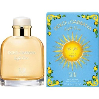 Dolce & Gabbana - Light Blue Sun Limited Edition Pour Homme - toaletní voda - 125 ml