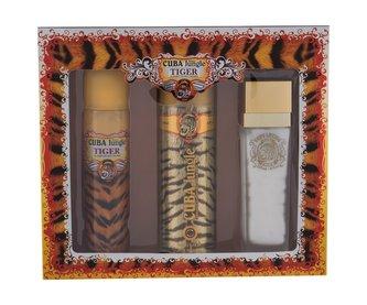 Cuba Tiger parfémovaná voda 100 ml + deodorant 200 ml + tělové mléko 130 ml
