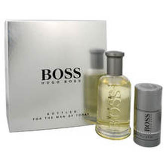 Hugo Boss Boss Bottled No.6 Dárková sada Toaletní voda 200 ml a deostick Boss Bottled No.6 75 ml