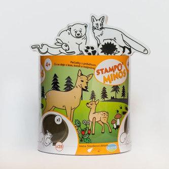 Razítka s příběhem StampoMinos - Lesní zvířátka