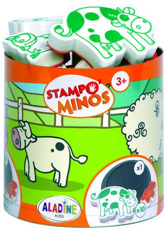Razítka s příběhem StampoMinos - Domácí zvířátka