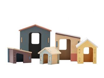Domky dřevěné Edvin - Kids Concept
