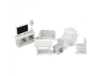Mini nábytek dřevěný 8 ks - Childhome
