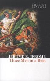 Three Men in a Boat. Drei Mann in einem Boot, ganz zu schweigen vom Hund, englische Ausgabe