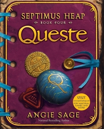 Septimus Heap - Queste, English edition - Sage, Angie