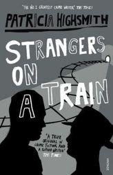 Strangers On A Train. Zwei Fremde im Zug, englische Ausgabe