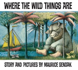 Where the Wild Things Are. Wo die wilden Kerle wohnen, engl. Ausgabe - Sendak, Maurice