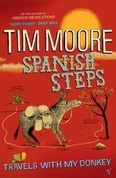 Spanish Steps. Zwei Esel auf dem Jakobsweg, englische Ausgabe