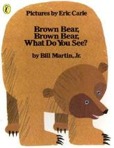 Brown Bear, Brown Bear, What Do You See?. Brauner Bär, brauner Bär, siehst du wen?, englische Ausgabe