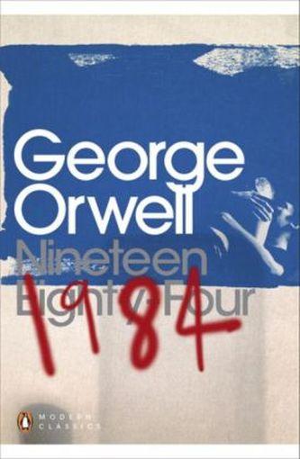 Nineteen Eighty-Four. 1984, englische Ausgabe - George Orwell