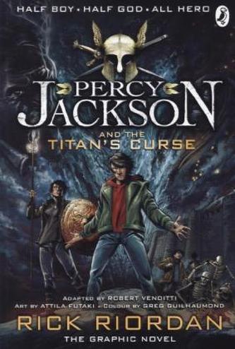 Percy Jackson and the Titan's Curse, The Graphic Novel - Rick Riordan