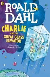 Charlie and the Great Glass Elevator. Charlie und der große gläserne Fahrstuhl, englische Ausgabe
