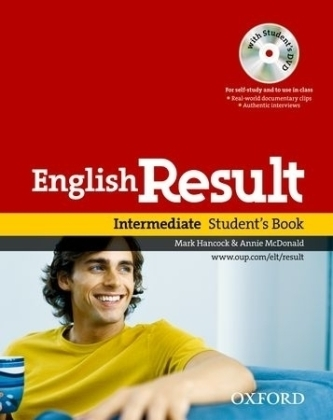 English Result Intermediate: Student´s Book with DVD Pack - Hancock, Mark