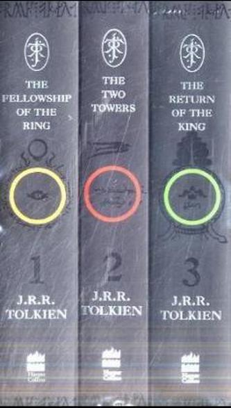 The Lord of the Rings, 3 Vols.. Der Herr der Ringe, 3 Bde., engl. Ausgabe - Tolkien, John R. R.