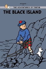 The Adventures of Tintin, Young Readers Edition - The Black Island. Die schwarze Insel, englische Ausgabe