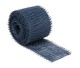 Jutový dekorační pásek - tmavě modrý - 3m x 4 cm