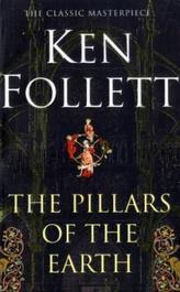 The Pillars of the Earth. Die Säulen der Erde, englische Ausgabe