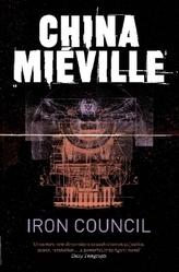 Iron Council. Der Eiserne Rat, englische Ausgabe.