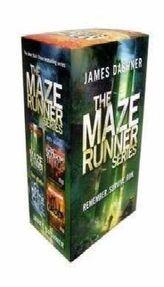 The Maze Runner Series, 4 Volumes. Die Auserwählten, englische Ausgabe, 4 Bde.