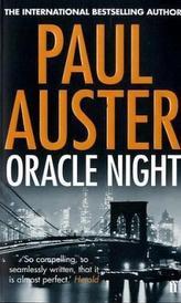 Oracle Night. Nacht des Orakels, englische Ausgabe