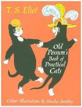 Old Possum's Book of Practical Cats. Old Possums Katzenbuch, englische Ausgabe