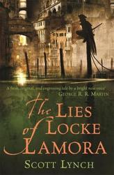 The Lies of Locke Lamora. Die Lügen des Locke Lamora, englische Ausgabe