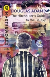 The Hitchhiker's Guide To The Galaxy. Per Anhalter durch die Galaxis, englische Ausgabe