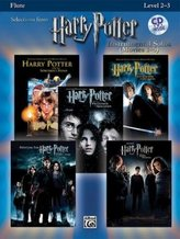 Harry Potter Movies 1-5, w. Audio-CD, for Flute