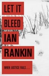 Let It Bleed. Ein eisiger Tod, englische Ausgabe