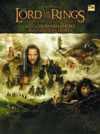 The Lord of the Rings, The Motion Picture Trilogy, for Easy Piano - Shore, Howard