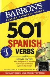 501 Spanish Verbs, w. Audio-CD and CD-ROM