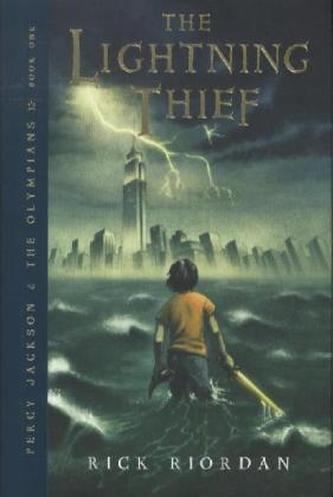 Percy Jackson, The Lightning Thief. Diebe im Olymp, englische Ausgabe - Rick Riordan