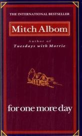 For One More Day. Nur einen Tag noch, englische Ausgabe